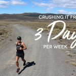 Crushing it from only three runs per week
