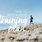 How to tell a good running training plan from an average one?