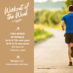 Workout of the Week: 043 - Two-Speed Intervals