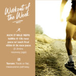 Workout of the Week: 044 - Kick It Mile Reps