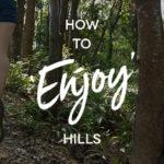 How to Enjoy Running Hills